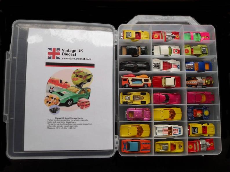 48 Diecast Car Storage Case image 1