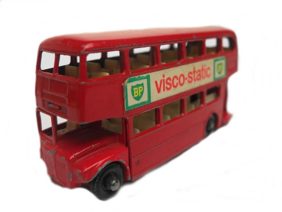 1950s Vintage Matchbox Lesney 5c Routemaster Bus Toy Collectible Made in  England