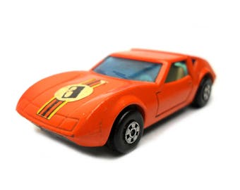 1970s Vintage Matchbox Superfast 3d Monterverdi Hai Car Toy Collectible. Made in England
