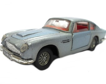1960s Vintage Dinky 153 Aston Martin DB5. Toy Collectible. Made in England