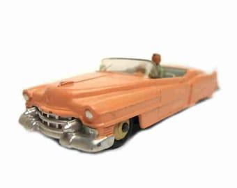 1950s Vintage Dinky 131 Cadillac Eldorado Motor Car Toy Collectible. Made in England