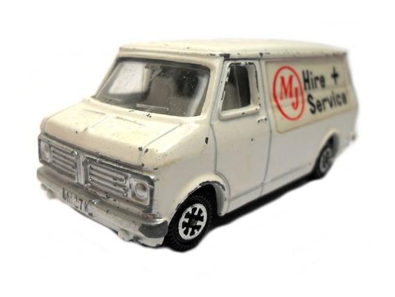 Van Hire Bedford >> 1970s Vintage Dinky 410 Bedford Van Mj Hire Services Van Toy Collectible England