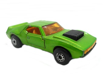 1970s Vintage Matchbox Superfast 9b AMX Javelin Toy Collectible. Made in England