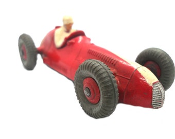 1950s Vintage Dinky 23n Maserati Racing Car Toy. Collectible England