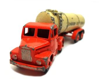 1950s Vintage Budgie Leyland Scammel Bulk Liquid Tanker Toy Collectible England