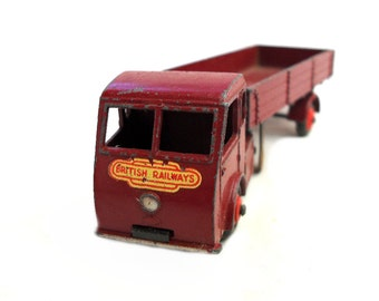 1950s Vintage Dinky 30w Hindle Smart Electric Articulated Lorry Toy Collectible England