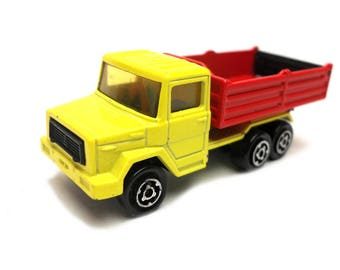 1970s Vintage Majorette 252 Magirus Rocking Tipper Truck Toy Collectible. Made in France