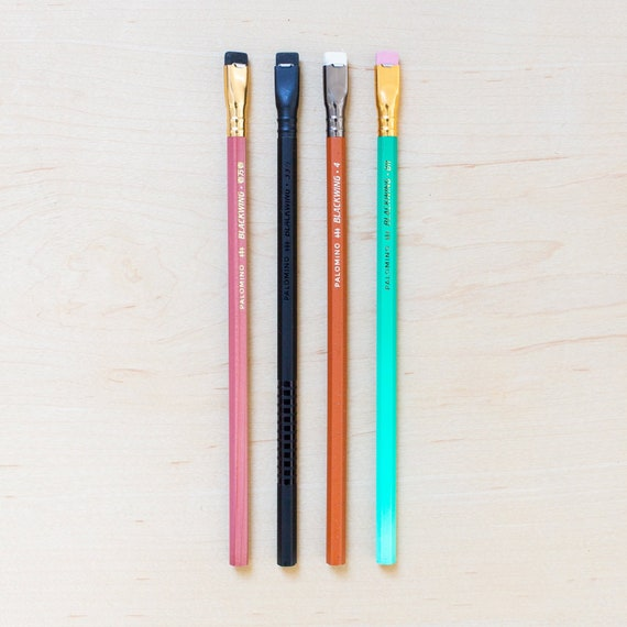 Volumes Firm Graphite 1 Blackwing 344 Pencil Deep Red Finish Palomino