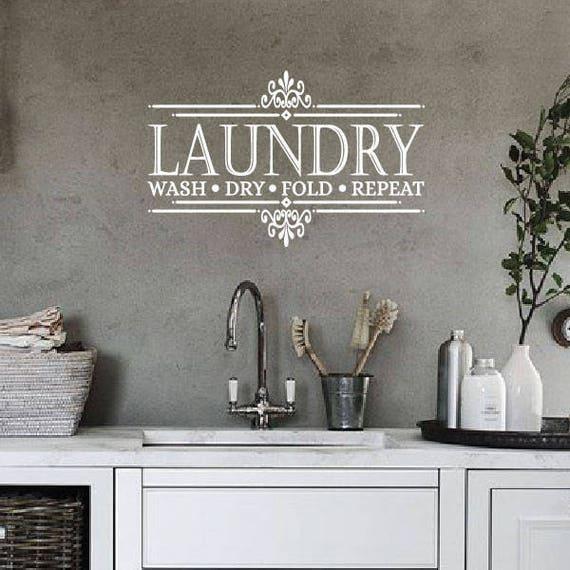 LAUNDRY TODAY OR NAKED TOMORROW Laundry Room Wall Art ... |Laundromat Wall Art
