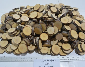 500 Birch Rounds, Birch Tree Slices, Coasters, Wedding, Lot #400, Wedding Favors, Centerpieces, Tree Tags, Rustic Wedding, Decorations