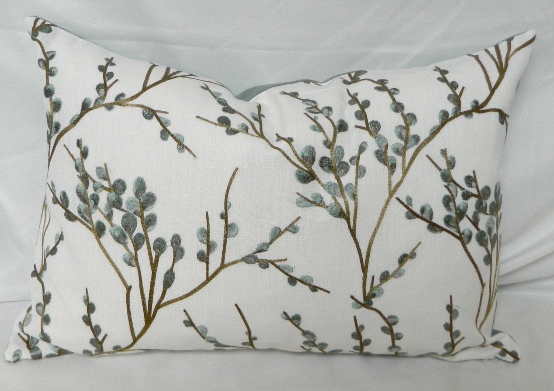 Zaria Lagoon By Fabricut Decorative Throw Pillow Cover