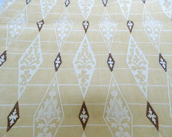 CRANLEY Yellow By G P & J Baker- Decorative Throw Pillow, Euro Sham, Lumbar Pillow Cover / 100% Linen / Geometric Diamond Pattern