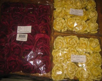 Bulk paper flowers etsy bulk paper roses mightylinksfo