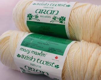 Mary Maxim Yarn for Aran Sweater