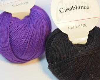 Casablanca 100% Mercerized Cotton