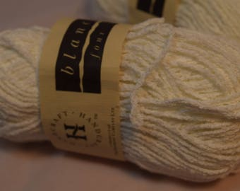White Cotton Blend Yarn