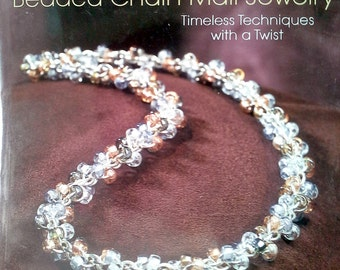 Beaded Chain Maille Jewelry Book New!