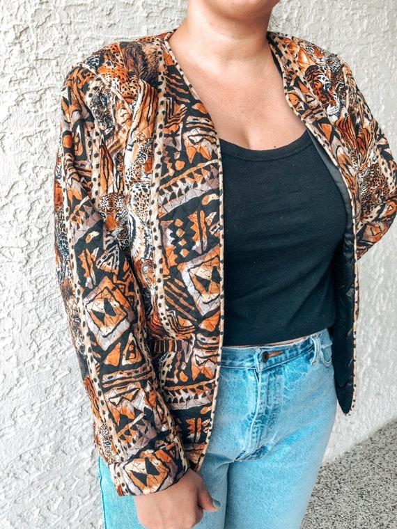 Vintage Quilted Jacket - image 2