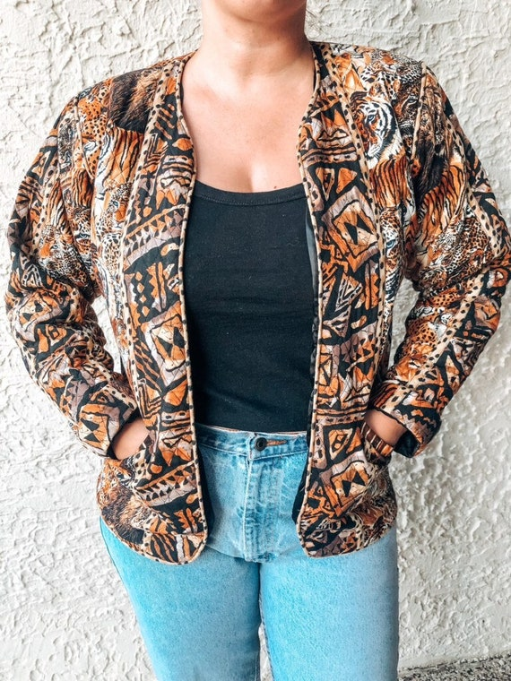 Vintage Quilted Jacket - image 1
