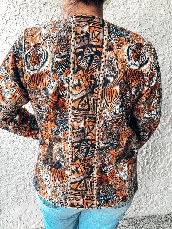 Vintage Quilted Jacket - image 4