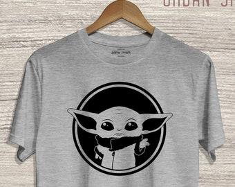 Grogu - Baby Yoda Shirt. Mandalorian Child Shirt. This is the Way. Baby Yoda Pod. Star Wars Shirt. #12369