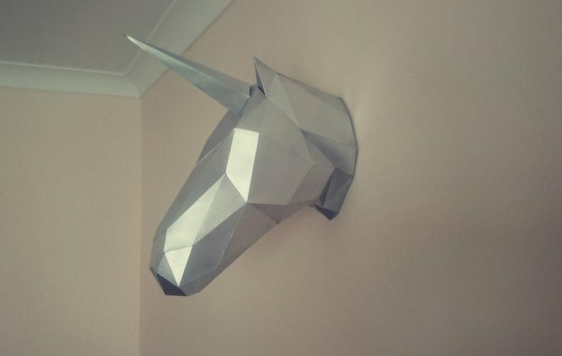 Paper Craft UnicornHorse
