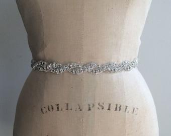 Bridal Belt-Bridal Sash-Bridesmaid Belt-Bridesmaid Sash-Rhinestone Bridal Sash Belt-Beaded Bridal Sash Belt-Rhinestone Wedding Sash Belt-