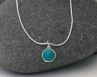 925 /& GENUINE TURQUOISE Pendant Necklace  70 gm 19  Alluregem E1116