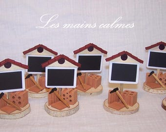 Name special housewarming gift, place card