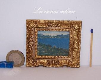 Painting miniature painting (Paul Cézanne)