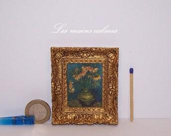 Painting miniature painting (Vincent Van Gogh)