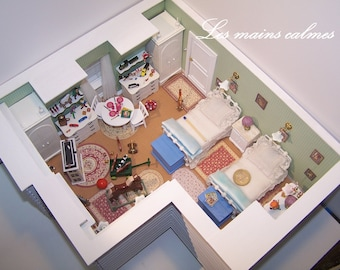 Mary Poppins Diorama miniature 1/20eme