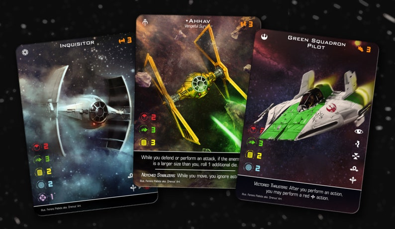 x wing second edition wave 3
