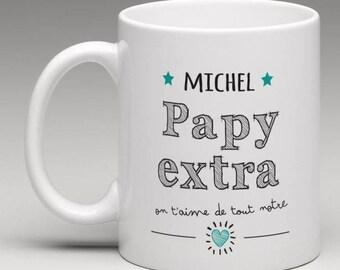 Personalised Grandpa Extra Mug 'Grandpa Gift' Grandparents gift  grandpa mug