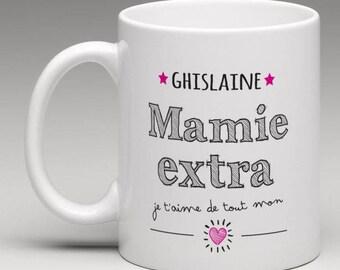 Personalized gift for a great Grandma mug
