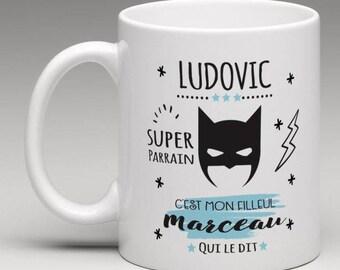Mug Super Godfather - personalized Mug