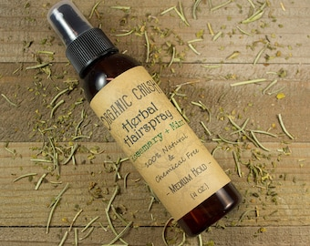 HERBAL HAIRSPRAY | Natural Hairspray | Medium/Flexible Hold Hairspray | Vegan Hairspray | Chemical-Free Hairspray