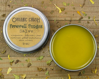 FAREWELL FUNGUS SALVE | Anti-Fungal Salve | Effective Relief for Ringworm, Athlete's Foot, Toe Fungus