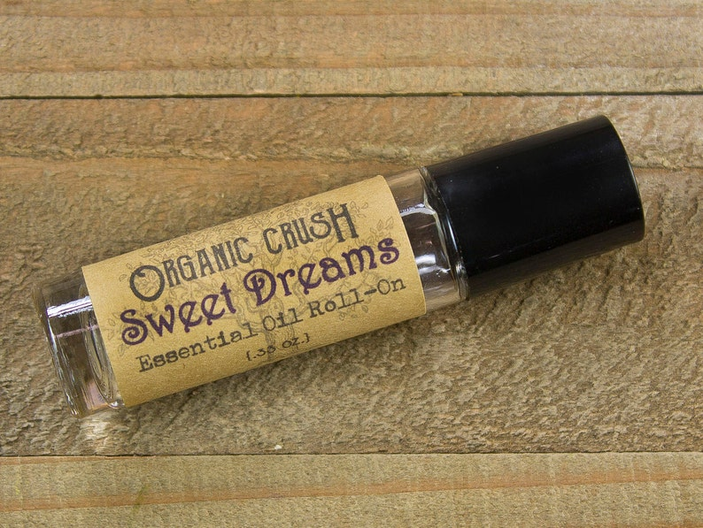 SWEET DREAMS Essential Oil Roll-On | Natural Sleep Aid | Natural Sedative |  Essential Oils for Sleep | Sleep Roller