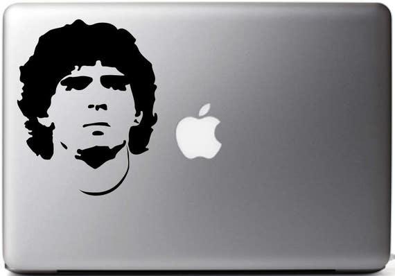 for vinyl decal Etsy MARADONA ARMANDO Stickers DIEGO for Mac wRfqXXO0