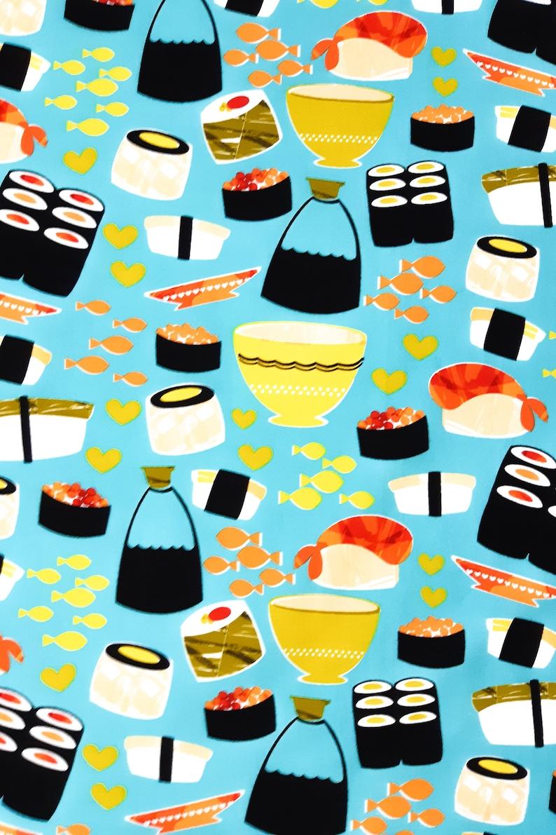 BBQ Apron Sushi Apron Novelty Apron Cooking Apron Kitchen Apron Womens Apron
