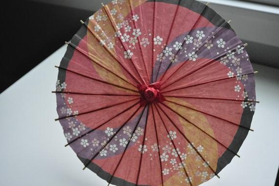 Child  PaperUmbrella, Child Paper Parasols,kids Paper umbrella, Japanese paper parasols