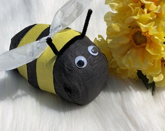 Easter gift idea etsy bumblebee surprise ball bumble bee party favor bumblebee birthday easter basket gift idea bumblebee baby shower gifts under 10 negle Images