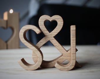 Engagement gift idea - Engagement present - wood wedding gift - Style: Modern & Minimalist