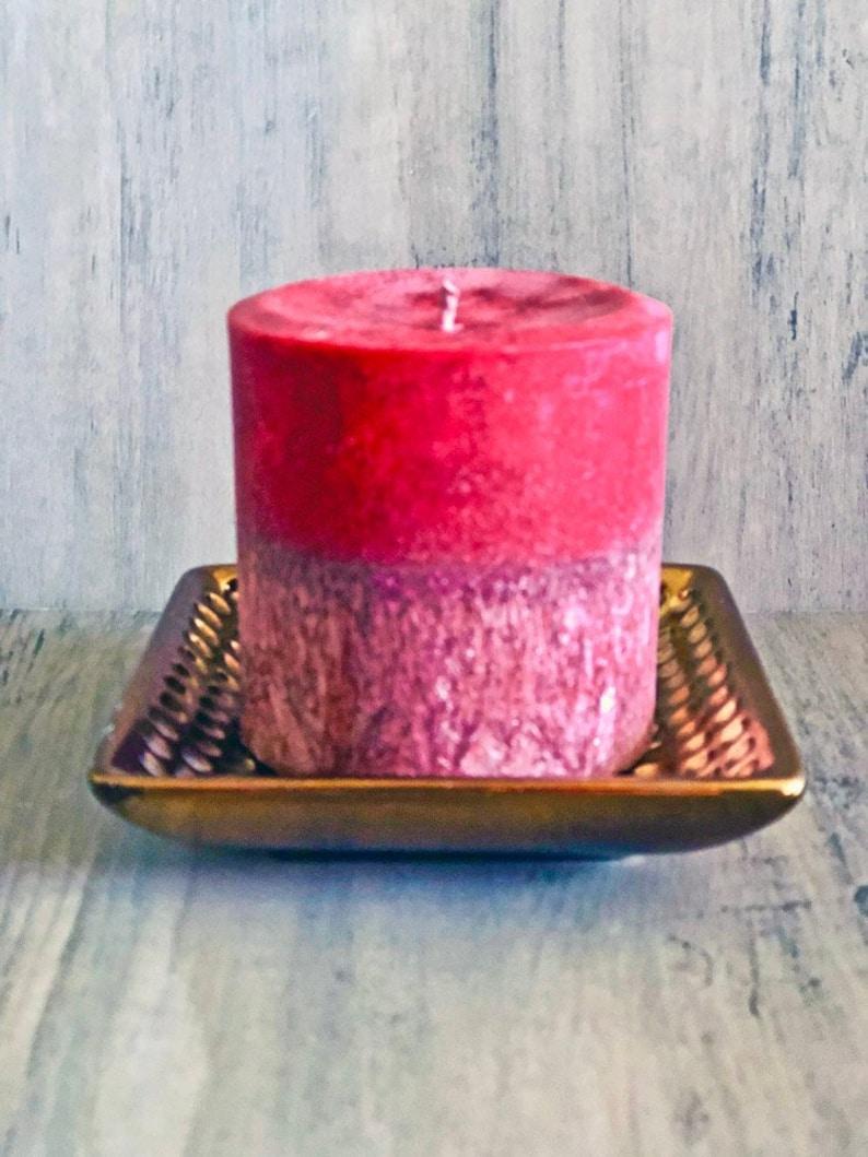 Vegane Kerzen.Preiselbeere Wald Organische Wachs Säule Vegane Kerzen Duftende Säule Kerzen Dekorative Kerzen Rustikale Dekor Geschenk Ideen