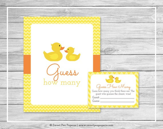 picture relating to Rubber Duck Printable identify Rubber Ducky Kid Shower Bet How Lots of Video game - Printable Kid Shower Bet How Numerous Activity - Rubber Duck Little one Shower - Wager How Numerous - SP121