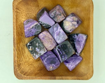 Charoite Tumbled Large - Third Eye - Crown Chakra - Reiki -Energy Healing