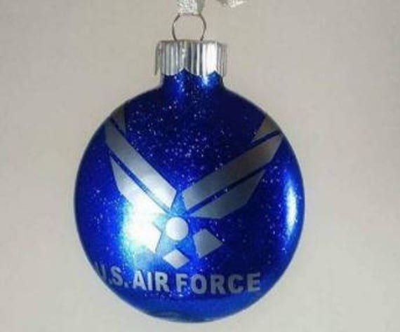 image 0 - Proud Air Force Christmas Ornament/ Air Force Pride/ Air Force Etsy