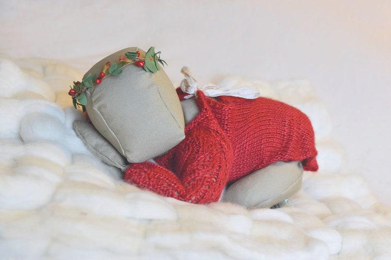 SEWING PATTERN Puddy Pad Posing Doll Newborn Photography image 0
