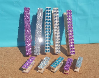 671655180940 Glitter Clothespins, Decorated Clothespins, Pink Clothespins, Blue  Clothespins, Silver Clothes Pins, Baby Shower Clothespins, Bridal Shower
